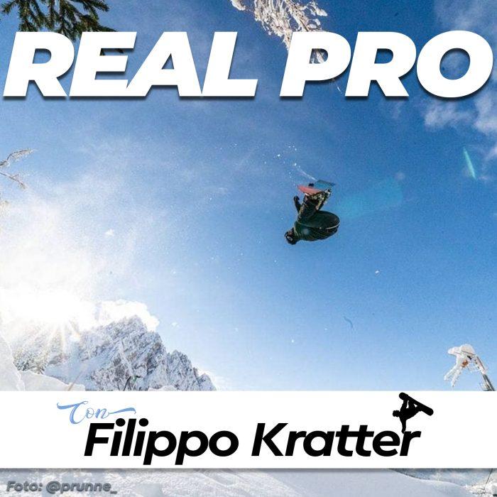 copertina puntata come un pro - real pro 09 con filippo kratter