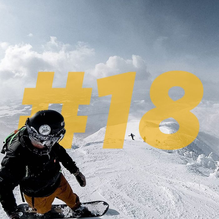 copertina puntata 18 come un pro - snowpark fai da te con federico bisotti @techno.cookie
